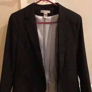 H&M Black suit blazer, used like new size 8